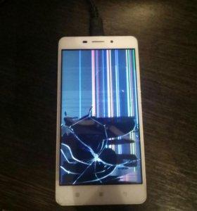 Lenovo разбит дисплей