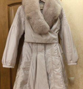 Утеплённое пальто visconf