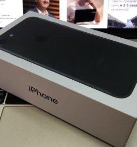 iPhone 7 Black(Чёрный матовый)128 gb