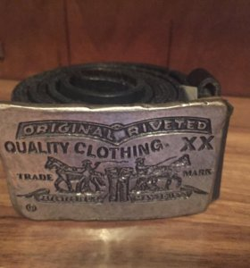 Оригинальный кожаный ремень