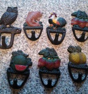 Крючки хозяйственные декоративные Испания