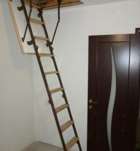 Чердачная складная лестница.