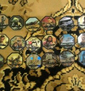 Карточки звёздные воины
