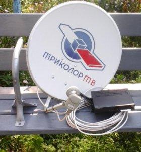 Спутниковое телевидение НТВ-плюс