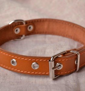 Ошейник кожаный для собак