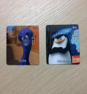 Карточки пингвины