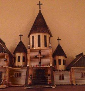 Церковь ручной работы