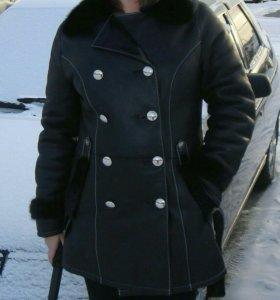 Дубленка зима