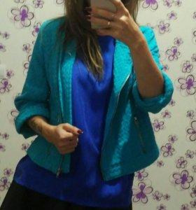 Пиджак блуза слипоны новые