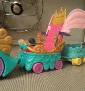MLP, машина и карета