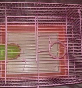 Клетка для хомяка(грызунов)
