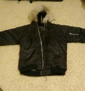Куртка мужская утиплённая