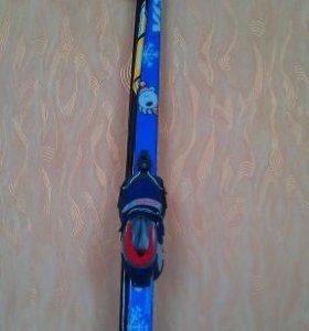 Комплект-лыжи беговые+ ботинки