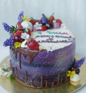 Домашние торты, капкейки, печенье