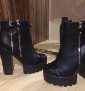 Ботинки новые красивые