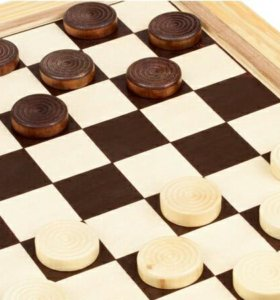 Обучаю игре в шашки