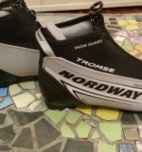 Ботинки для беговых лыж Nordway Tromse. Размер 40