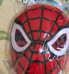 Маска человек паук новая