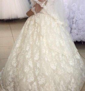 Свадебное платье+болеро (эксклюзивное)