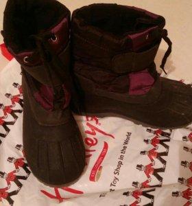 Ботинки осеннее-зимние с мембраной