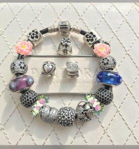 Pandora оригинальные шармы и браслеты!
