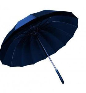 Зонт трость черный
