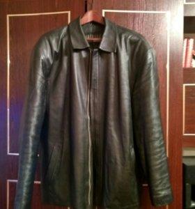 Кожаная куртка р.54-56