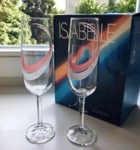 Бокалы / фужеры для шампанского Bohemia Isabelle