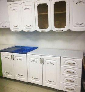 Кухня Аврора 2,0(белое дерево)