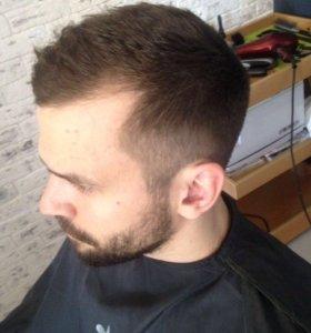 Мужской парикмахер-барбер стаж 18 лет