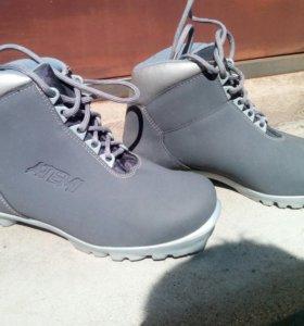 Обувь, с лыжами, для ходьбы, бега, р 38.