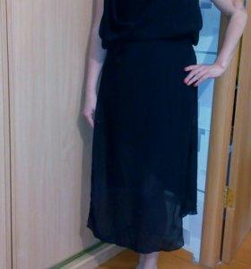 Летнее платье необычного дизайна