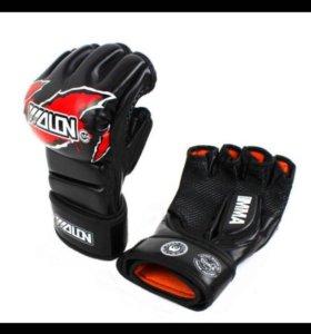 Перчатки для ММА Wolon Black