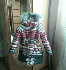 Куртка удлиненная зима