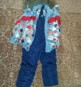 Зимний костюм размер 98-104