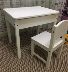 Парта и стул от IKEA
