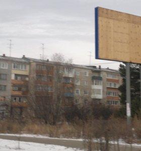 Cдам рекламный щит (билборд) под баннер 6х3