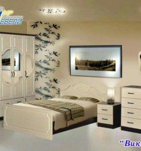 Мебель для спальниВиктория мдф