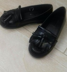 Туфли кожаные Zara для девочки