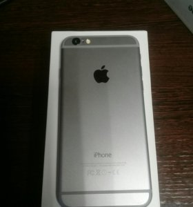 Iphone 6. Space gray. 16 gb.