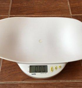 Весы детские электронные.