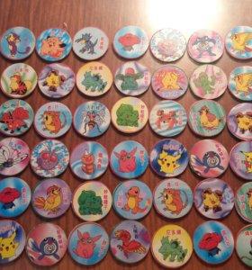 Фишки покемон (Pokemon) 293 штук