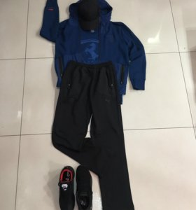 Спортивный костюм Ferrari синий