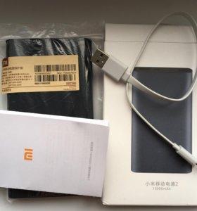 Оригинальный Xiaomi power bank 2 10000 ma, новый