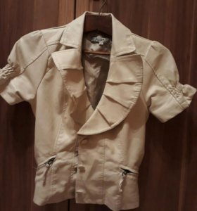Куртка кожанная, размер S