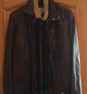 Кожаная куртка бренд Milestone оригинал