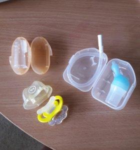Прорезыватели для зубов,соски,респиратор для носа