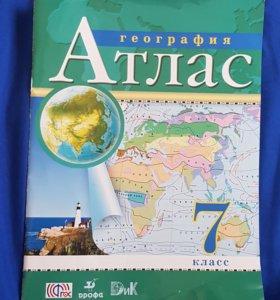 Атлас по Географии 7кл.