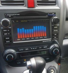 Авто магнитола на хонда срв 3