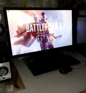 Мощный игровой компьютер на i7 в комплекте